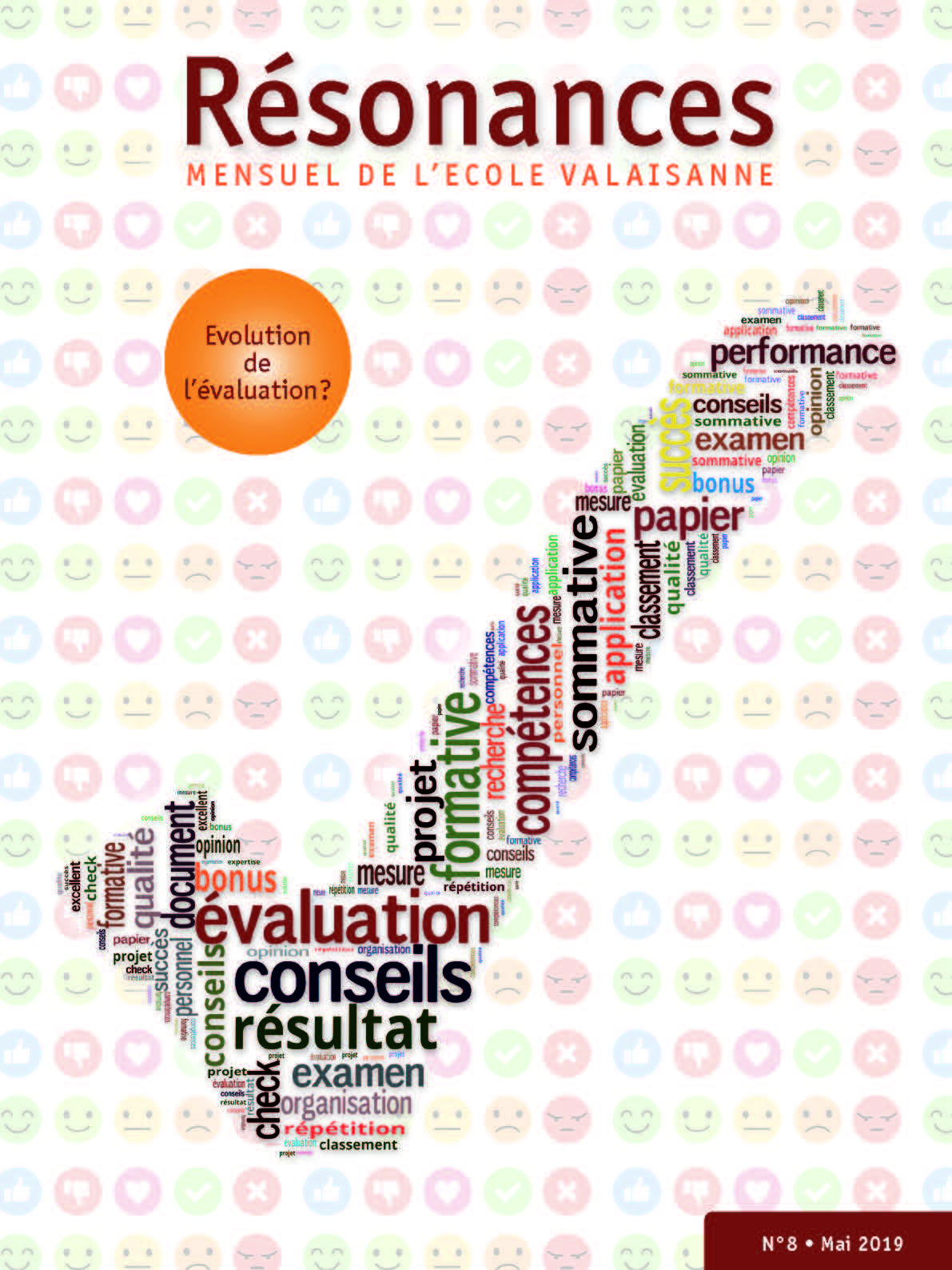 N°8 • Mai 2019 Evolution de l'évaluation?